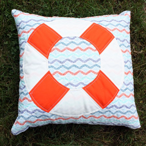 ptown pillows ::: life saver