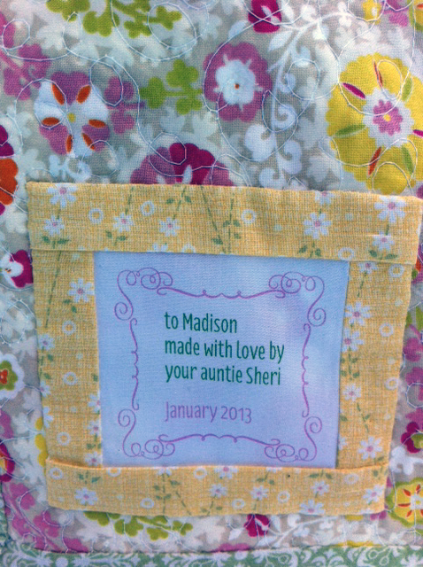 Madison's Quilt ::: tag